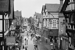 Downtown Chester England
